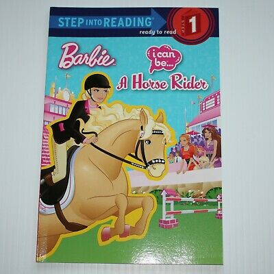 Step into Reading Level 1: I Can Be a Horse Rider (Barbie) by Mary Man-Kong Book