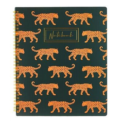 A4 Leopard love Lined Notebook by Sass and Belle