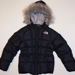 North Face Girls' Down Coat - 4T
