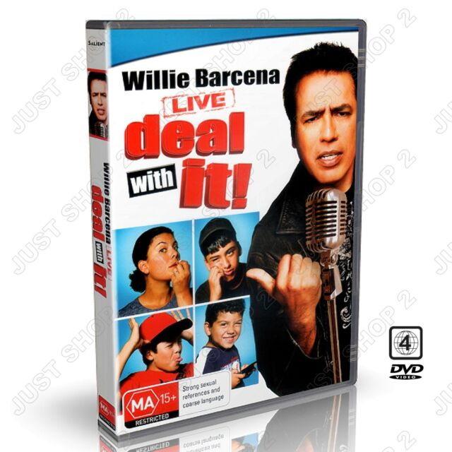Willie Barcena Live Deal With It : New Comedy DVD