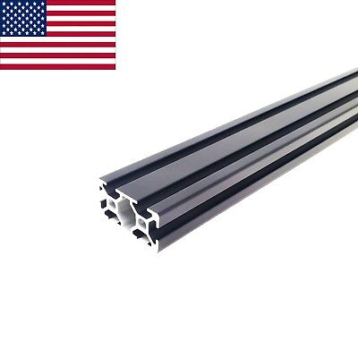 Black 2040 20mmx40mm T-slot Aluminum Extrusion - 1200 Mm 1.2m Cnc 3d Printer