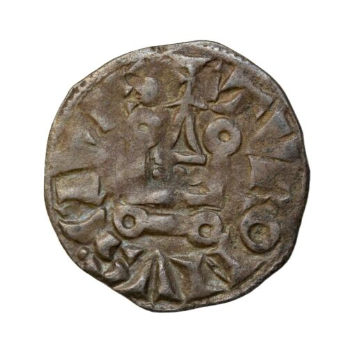 France Philip II 1180-1223 Augustus Denier Tournois Medieval Coin Dy.204