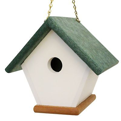 Hanging Wren Bird House Handmade from Eco Friendly Recycled Plastic Materials