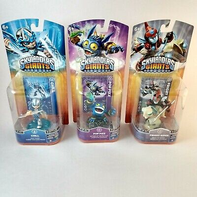 Skylanders Giants Figures Pop Fizz Fright Rider Chill Wii-U PS3 3DS Xbox 360 NEW segunda mano  Embacar hacia Mexico