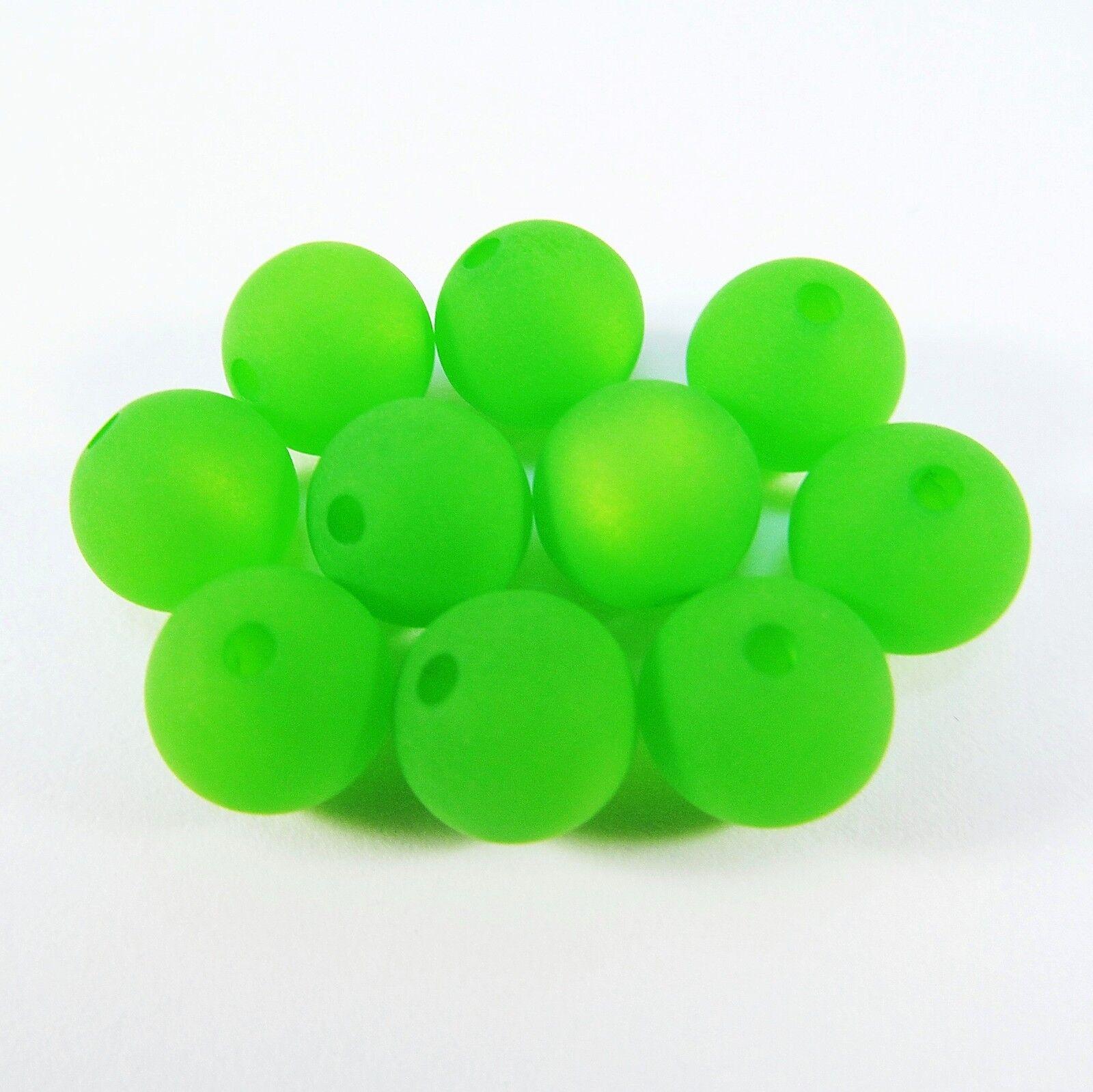 Original Polarisperlen: Kugel matt 10mm, Farbe grün