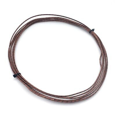 Anixter 328-110-1611j Type-j Glass Braid Thermocouple Wire 20 Feet 16awg 482c