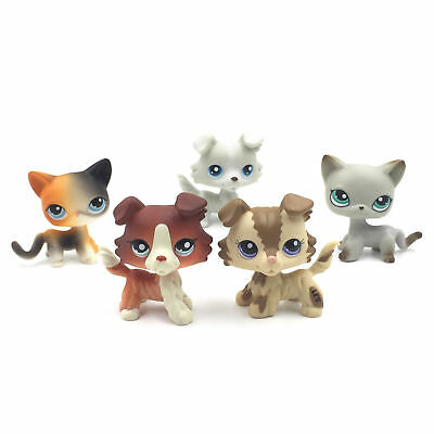 5pcs littlest pet shop toys old lps sets dogs and cats surprise Christmas gift (Old Littlest Pet Shop)