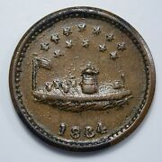 1864 Civil War Token