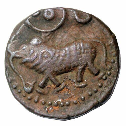 India Mysore 1811-1833 AD Princely States Elephant Copper 20 Cash KM#C.177