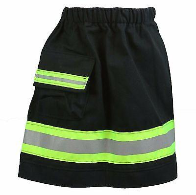 Toddler Girl Firefighter Costume (FIREFIGHTER Costume Toddler 4T Skirt Look Like Turnout Bunker Gear (One)