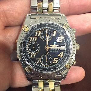 HD Clear Protectors for Breitling Chronomat anti-scratch, Bezel n Sides 2 Sets!