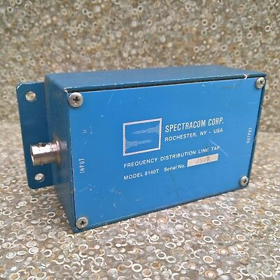 Spectracom Corp. 8140t Frequency Distribution Line Tap Bnc Connector