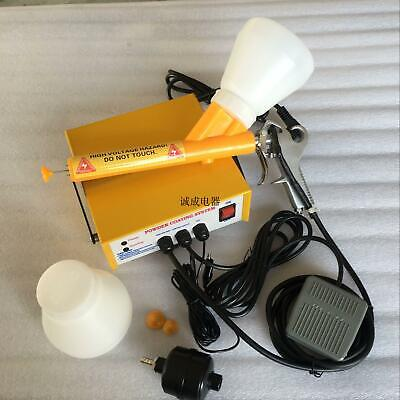 Portable Powder Electrostatic Spraying Coating Machine Paint Gun Coat Ce Certify