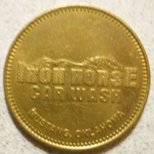 Iron Horse Car Wash (Mustang, Oklahoma) token - OK5950A