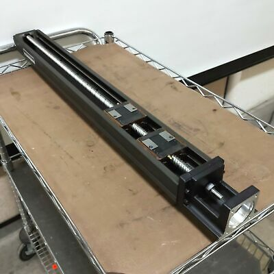 Thk Kr4620d740l Lm Linear Ball Screw Actuator 620mm Travel 20mm Lead Nema23