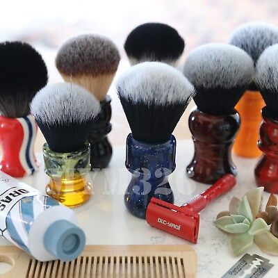 (Yaqi Collection Synthetic Shaving Brush High Quality Bristles Tuxedo Knot Razor)