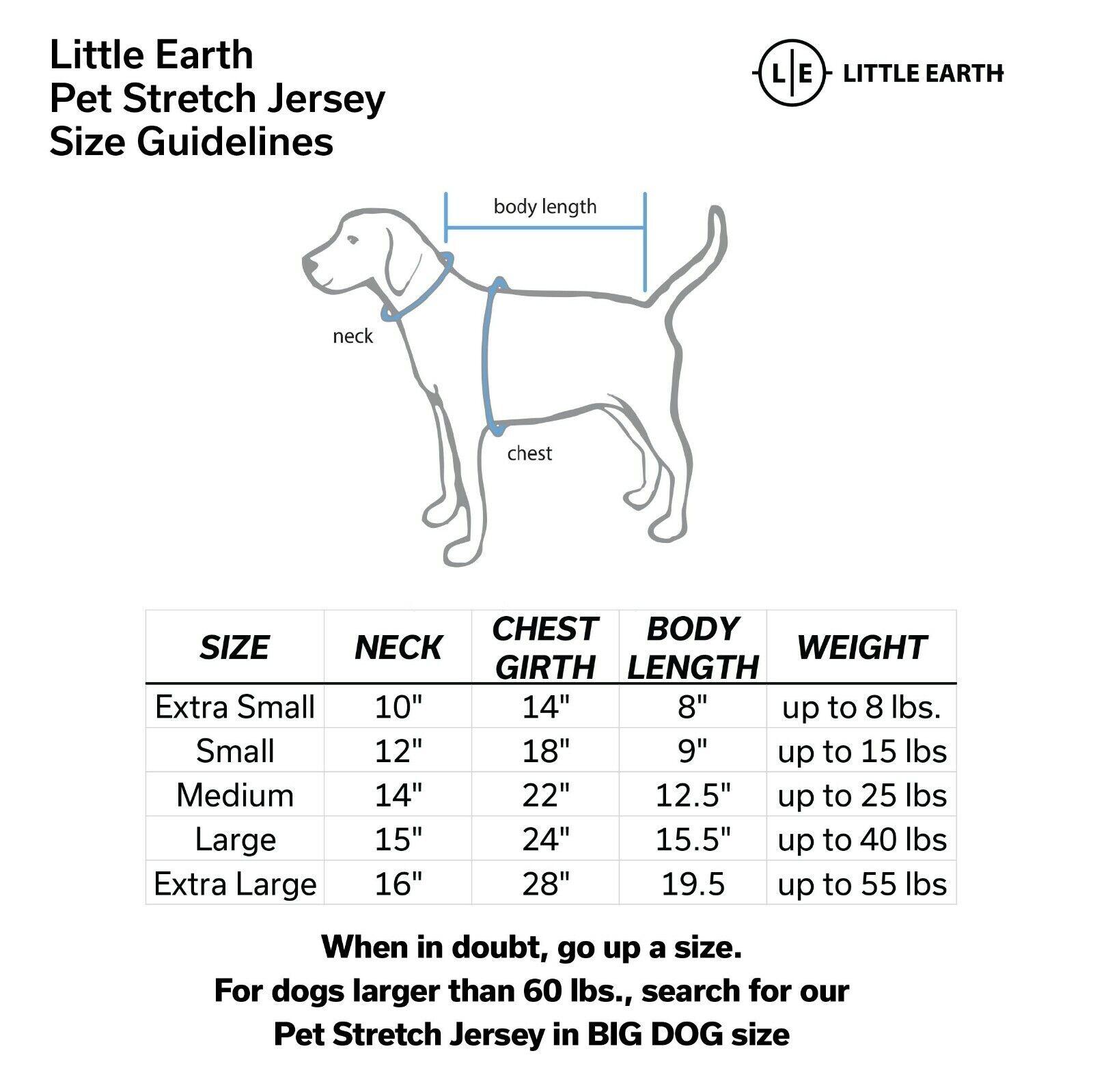 KENTUCKY WILDCATS Little Earth NCAA Custom Pet Stretch Jersey Sizes XS-BIG DOG - $34.99