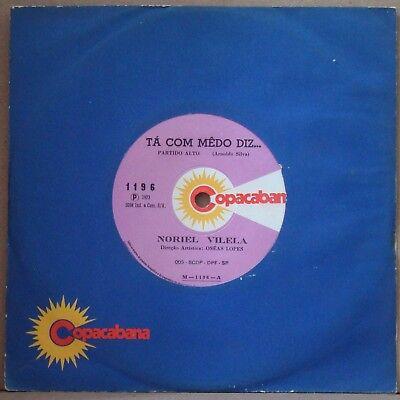 Noriel Vilela 1973  Ta Com Medo Diz  Afro Samba Soul Funk 7  Brazil 45 Hear