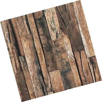 Reclaimed Wood Contact Paper Rustic Wallpaper Wood Peel and Stick Wallpaper R...