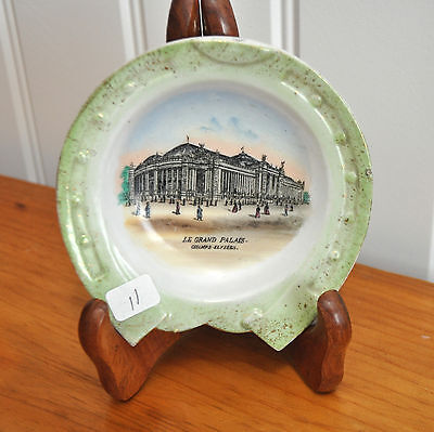 Vintage China Ashtray with Horseshoe Rim featuring Le Grand (Le Collection Rims)