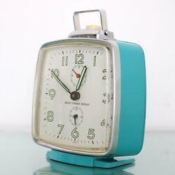 SEIKO CORONA REPEAT Alarm Vintage Clock SUPERB! Condition RETRO 1960's SERVICED!
