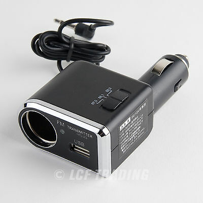 Yac Tp-173 Fm Transmitter For Iphone & Ipod Touch With Us...