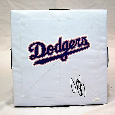 Corey Seager Los Angeles Dodgers Signed Full Size Base JSA