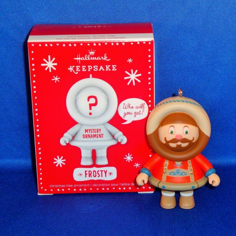 Hallmark - 2013 Mystery Ornament German Frosty - Keepsake Christmas - NEW