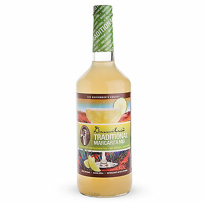 Demitris Traditional Margarita Mix - 32 Oz - Drink Flavor - Premium All-natural