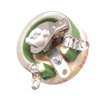 50w 200 Ohm High Power Wirewound Potentiometer Rheostat Variable Resistor