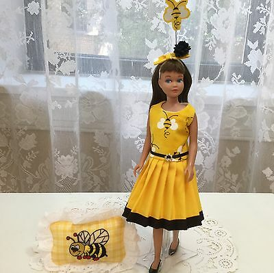 OOAK Vintage Barbie Skipper Scooter Doll Fashion Honey Of A Bee 🐝 Keeper