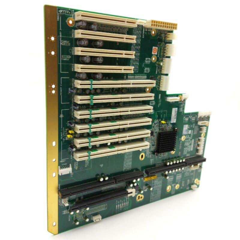 Advantech PCE-5B12-64C1E Passive Backplane PCIe X16, 6x PCI-X, 4x PCI, PICMG 1.3