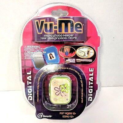 Vu-Me Friendship Photo Keeper Locket / keychain