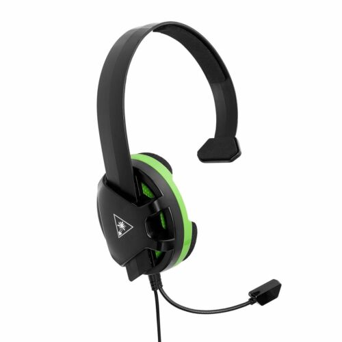Turtle Beach EAR FORCE Recon 30X Over-the-Ear Gaming Headset for Xbox One, PS4, PC and Mobile Black/Green TBS-2308-01