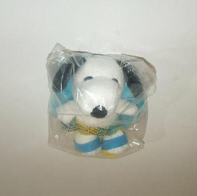 """RARE NEW & RETIRED ~ SNOOPY MetLife LIFEGUARD 7"""" PLUSH TOY DOLL ~ LIFE PRESERVER"""