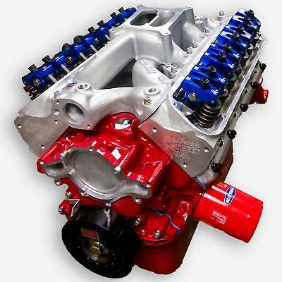 - 347 Ford Crate Engine Small Block Stroker 425 HP Dyno Tested Roller Cam