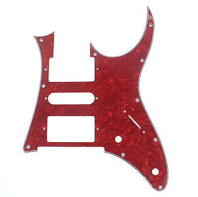 Used, 4Ply Quality Guitar Pick Guard For Ibanez RG 350 DX ,Red Pearl for sale  Philadelphia