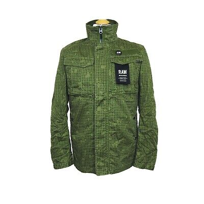 G-Star RAW Rovic Overshirt L/S jacket size S BNWT Infra Red Camo for sale  Shipping to Ireland