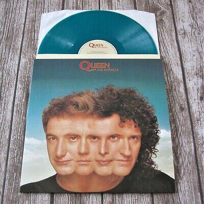 QUEEN : The Miracle - Teal Green Coloured Vinyl LP Album 2015 Virgin EMI Record comprar usado  Enviando para Brazil