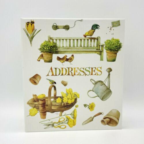 Vintage 1995 Hallmark Marjolein Bastin Refillable Address Book Binder - BLANK