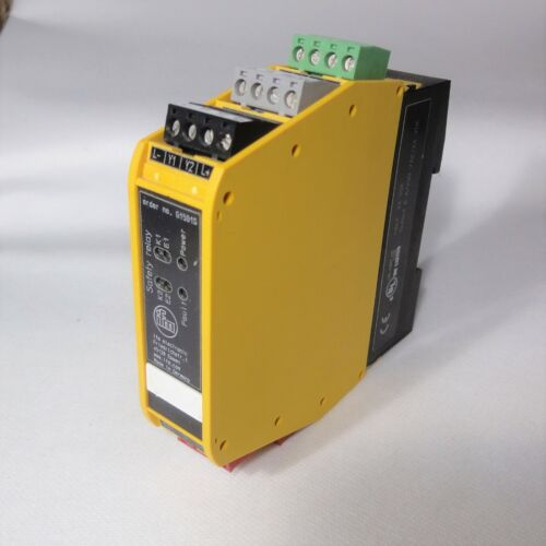IFM Electronic SAFETY SWITCH GEAR - G1501S