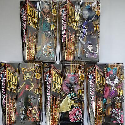 MATTEL® Monster High™ Boo York Gala Freunde & Falsches Spiel Puppen Sortiment