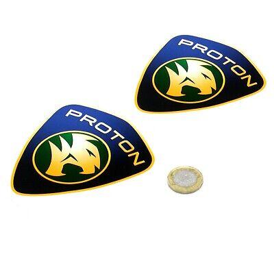 Proton Badge Stickers Decal Car Vinyl 100mm x2 Gen2 Satria Neo Saga