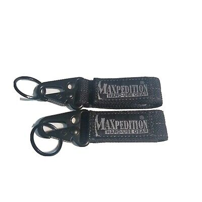 Maxpedition Gear Keypers Black (2 count)