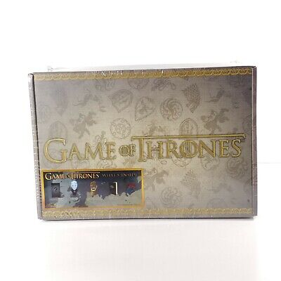 Game of Thrones Collectors Box Mystery Item. Culturefly NEW!! 5 ITEMS