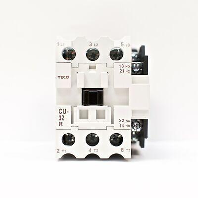 TECO CU-11-440V Magnetic Contactor 3A1A 50//60 Hz