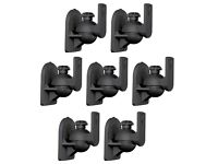 Universal Wall or Ceiling Speaker Mounts Brackets fits BOSE White 3 Pack Lot