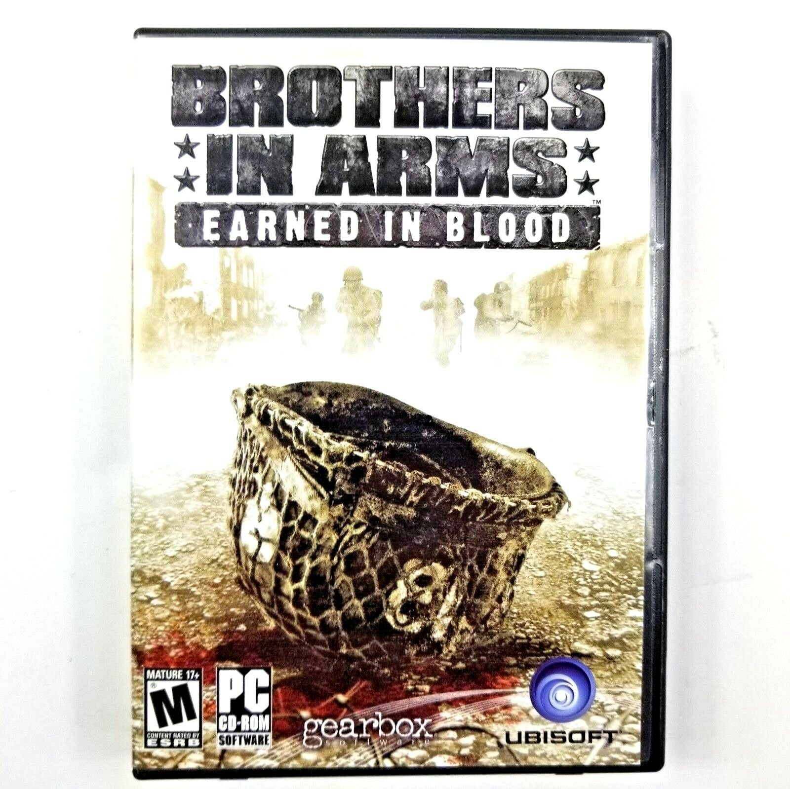 Computer Games - Brothers In Arms Earned In Blood PC Game Windows 2000 XP Computer Ww2 Euc