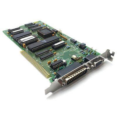Komax Wire D675b Inkjet Interface Card Isa Slot 9-pin D-sub 25-pin D-sub