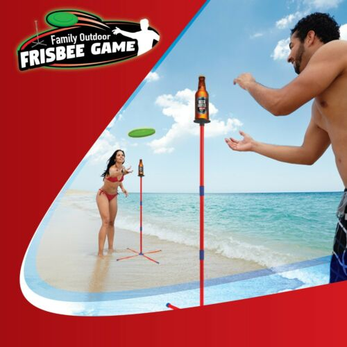 Fun and Interactive Toss Frisbee Game for Beach, Sand, Camp or Park Use,